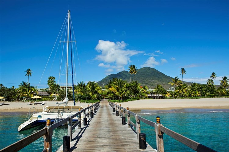 Nevis Island in the Caribbean