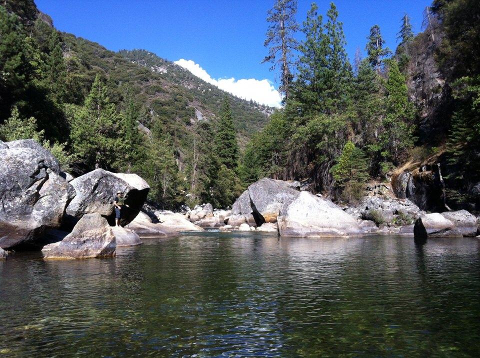 Kings Canyon National Park Camping Fishing Hiking