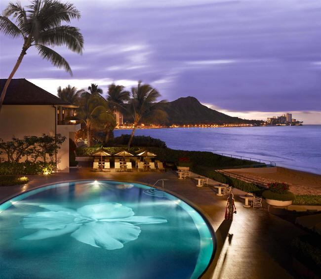Halekulani Hotel in Waikiki