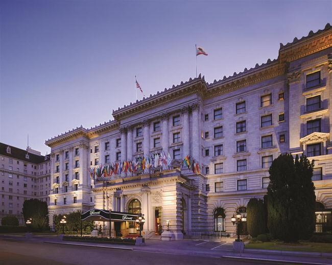 san francisco fairmont hotel vacations