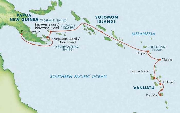 Zegrahm Expeditions Melanesia